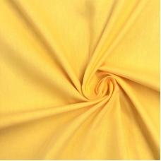Ткань на отрез поплин гладкокрашеный 150 см цвет манго