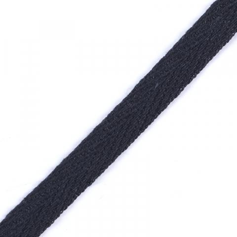 Лента киперная 10 мм цвет черный
