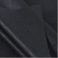 Ткань на отрез флизелин 90 см 30 гр/м2 цвет черный