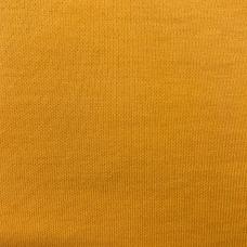 Ткань на отрез интерлок цвет желтый