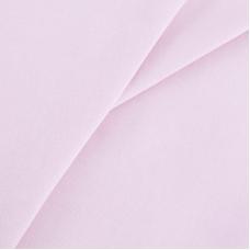 Бязь гладкокрашеная 120гр/м2 220 см на отрез цвет светло-розовый