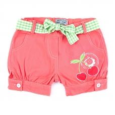 Шорты детские Вишня цвет персик рост 98