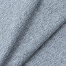 Ткань на отрез рибана с лайкрой М-2000 серый меланж
