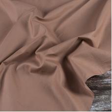 Ткань на отрез сатин гладкокрашеный 245 см 213KL-230 цвет карамель