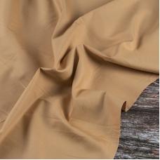 Ткань на отрез сатин гладкокрашеный 245 см 213KL-143 цвет медовый
