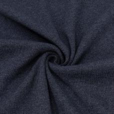 Ткань на отрез кашкорсе 3-х нитка с лайкрой цвет синий меланж