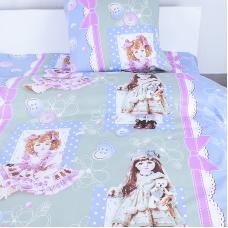 Детское постельное белье из бязи Шуя 1.5 сп 90661 ГОСТ
