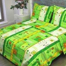 Ткань на отрез бязь о/м 120 гр/м2 150 см 133/2 Стамбул цвет зеленый