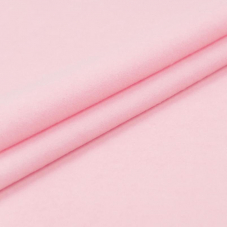 Ткань на отрез фланель гладкокрашеная 90 см 254 цвет розовый