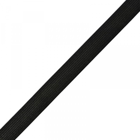Резинка 25 мм 25 м ТВР-25 цвет черный