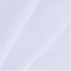 Ткань на отрез кулирка цвет белый