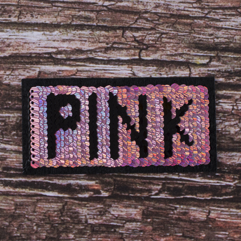 Аппликация PINK 10,5*5,5 см
