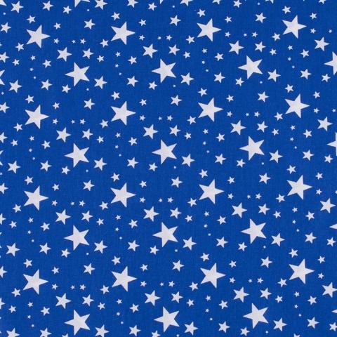 Поплин 150 см 433/17 Звездочка цвет василек
