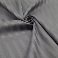 Маломеры страйп сатин полоса 1х1 см 220 см 120 гр/м2 цвет 960/2 серый 1,5 м