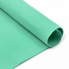Фоамиран в листах 1 мм 50/50 см уп 10 шт MG.N024 цвет мятный
