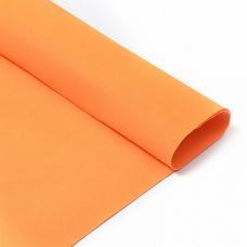 Фоамиран в листах 1 мм 50/50 см уп 10 шт MG.N028 цвет оранжевый