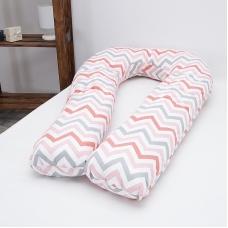 Подушка для беременных U-образная 1797/5 цвет красный