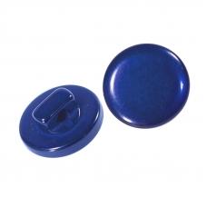 Пуговицы Т-18 11 мм цвет василек упаковка 24 шт