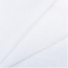Ткань на отрез полулен 220 см отбеленный