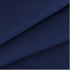 Ткань на отрез саржа цвет синий 269