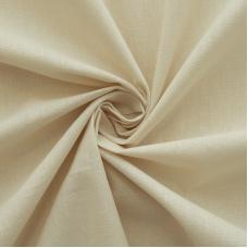 Мерный лоскут на отрез поплин 220 см цвет светло бежевый