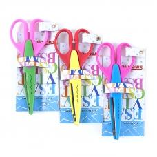 Ножницы для рукоделия фигурные расцветки в ассортименте
