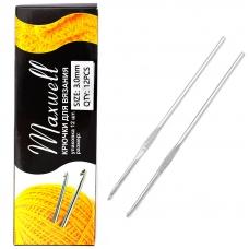 Крючок для вязания Maxwell Black артТВ-CH03  3,0мм