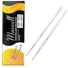 Крючок для вязания Maxwell Black артТВ-CH03 1,0 мм