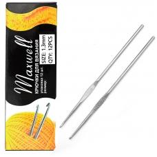 Крючок для вязания Maxwell Black артТВ-CH03 1,3 мм
