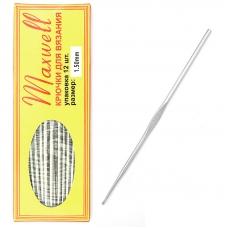 Крючок для вязания Maxwell Black артТВ-CH03 1,5 мм