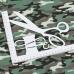 Ткань на отрез кулирка пенье Камуфляж В хаки R163