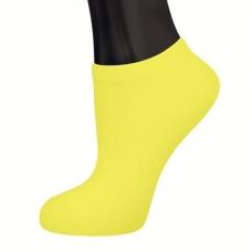 Женские носки АБАССИ XBS12 цвет желтый размер 35-38
