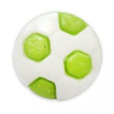 Пуговица детская сборная Мяч 13 мм цвет салатовый упаковка 24 шт