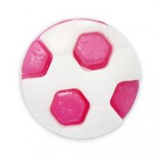 Пуговица детская сборная Мяч 13 мм цвет т-розовый упаковка 24 шт