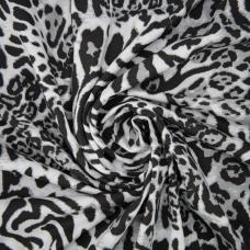 Ткань на отрез кулирка R2369-V1 Животный принт