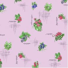 Ткань на отрез вафельное полотно 45 см 144 гр/м2 0449/4 Ягоды