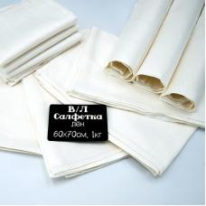 Весовой лоскут Салфетка лен 60 / 70 см по 1 кг