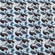 Ткань на отрез кулирка 21882/4 Русалки