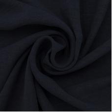 Ткань на отрез манго 154 см цвет темно-синий