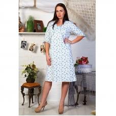 Сорочка женская Нежность футер размер 46