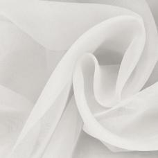 Ткань на отрез Вуаль 280 см цвет 15  молочный