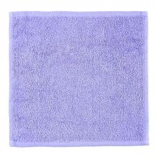 Салфетка махровая цвет сиреневый 30/30 см