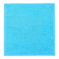 Салфетка махровая цвет 720 бирюзовый 30/30 см