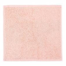 Салфетка махровая цвет персиковый 30/30 см