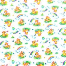 Набор детских пеленок фланель 4 шт 90/120 см 144-1П