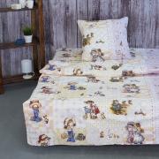 Детское постельное белье 10132/1 Машенька 1.5 сп поплин