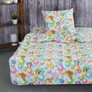 Детское постельное белье из поплина 1.5 сп 4987/1 Праздник