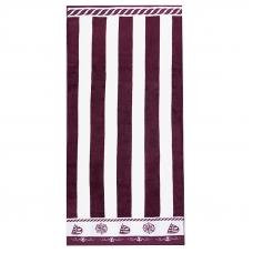 Полотенце махровое Sunvim 12В-16 65/135 см цвет бордовый