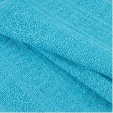 Полотенце махровое 30/50 см цвет 504 сине-зеленый
