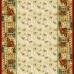 Рогожка 150 см набивная арт 904 Тейково рис 30159 вид 1 Новогодний винтаж